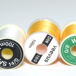 gg sheer and veevus and gg wisp fly tying threads